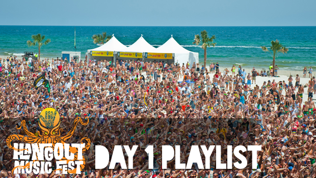 [FESTIVAL COVERAGE] Hangout Music Festival 2013: Day 1 Playlist