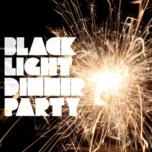 Black-Light-Dinner-Party