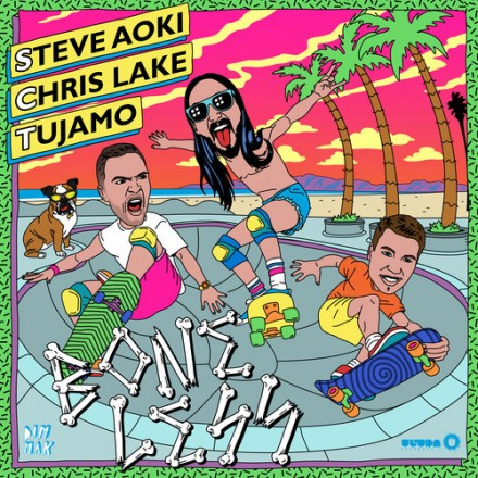 "[ELECTRO/HOUSE] Steve Aoki, Chris Lake & Tujamo - ""Boneless"""