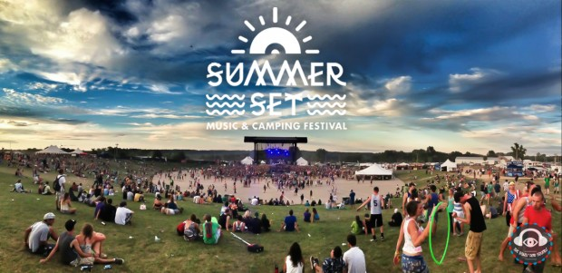 Summer Set Music Festival 2013 cover shot