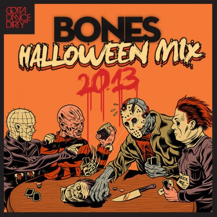 [QUICK MIX - ELECTRO/BASS] Bones - 'Halloween Mix 2013'