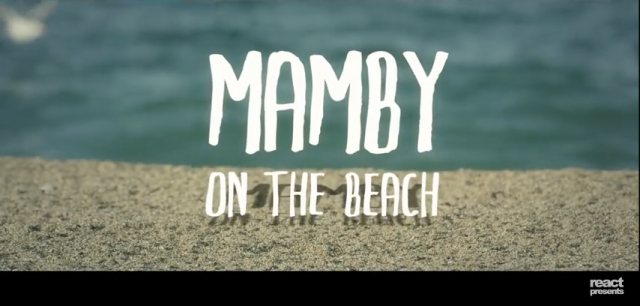 mamby on the beach