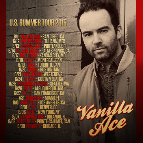 Vanilla Ace summer tour