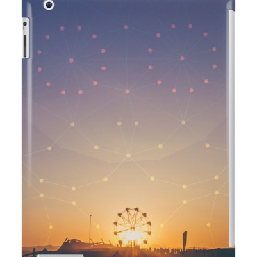 Festival Sunset iPad Snap Case