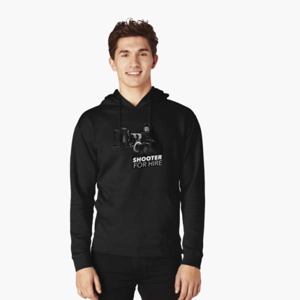 Shooter For Hire Hoodie – Front