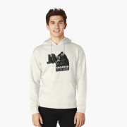 Shooter For Hire Hoodie - Front Oatmeal