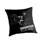 Shooter For Hire Pillow