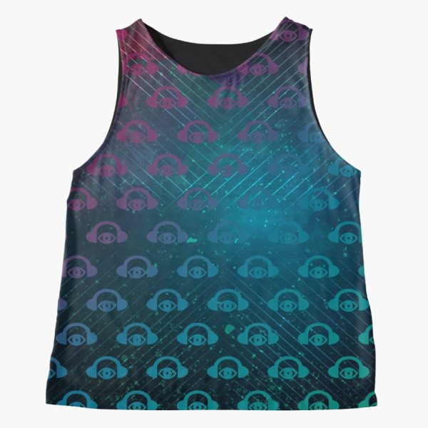Floating In Space Tank Top3