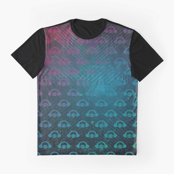 Floating In Space Graphic Tee Front