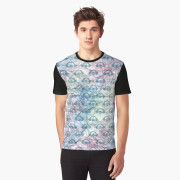 Water and Paper Graphic Tee front
