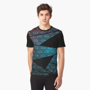 Geometry In Space Graphic Tee front