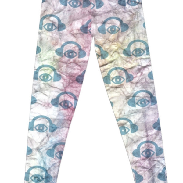 Paper + Water Color Graphic Leggings