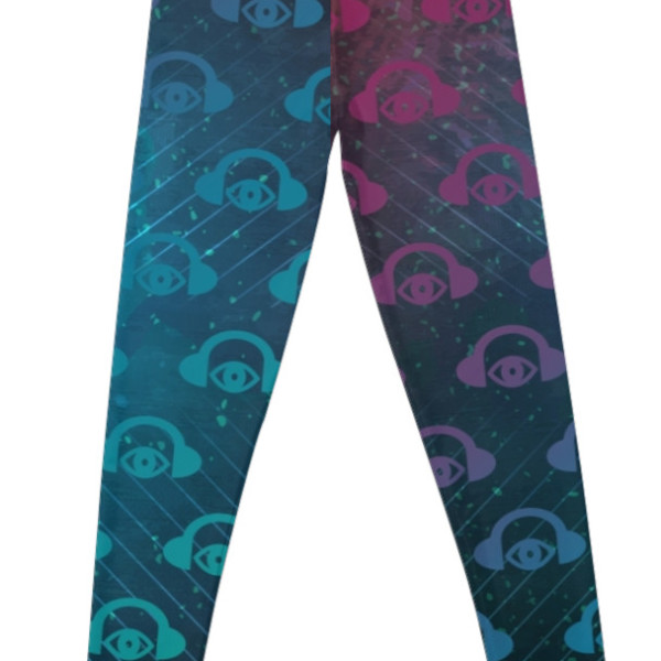 Floating In Space Graphic Leggings