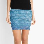 Water Works Graphic Mini Skirt
