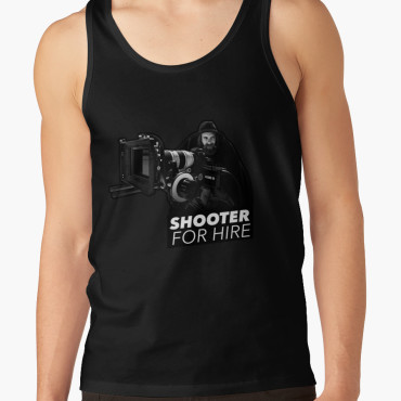 Shooter For Hire Tank Top