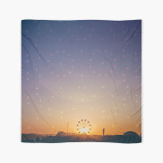 Festival Sunset Graphic Scarf 1