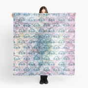 Paper + Water Color Graphic Scarf