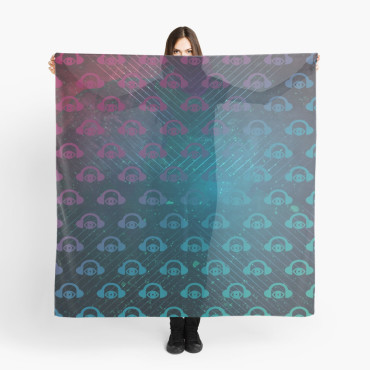 Floating In Space Graphic Scarf