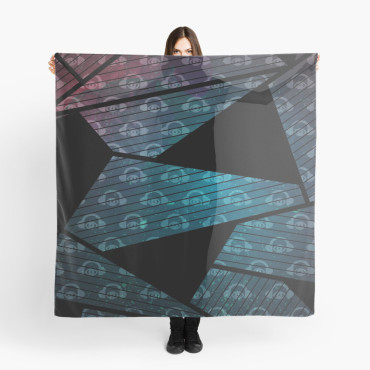Geometry In Space Graphic Scarf 1