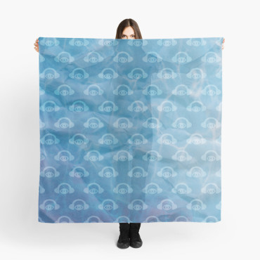 Water Works Graphic Scarf