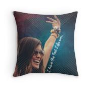Fest Life Ever Throw Pillow 1