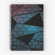 Geometry In Space Spiral Notebook