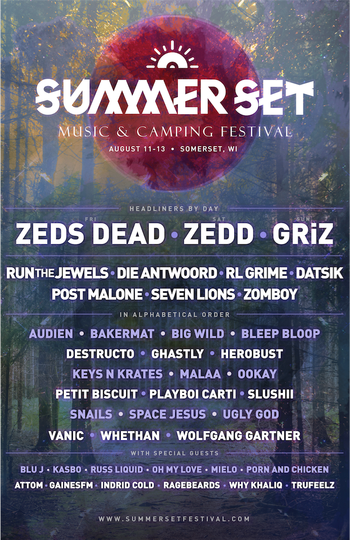 summer set lineup announcement 2017