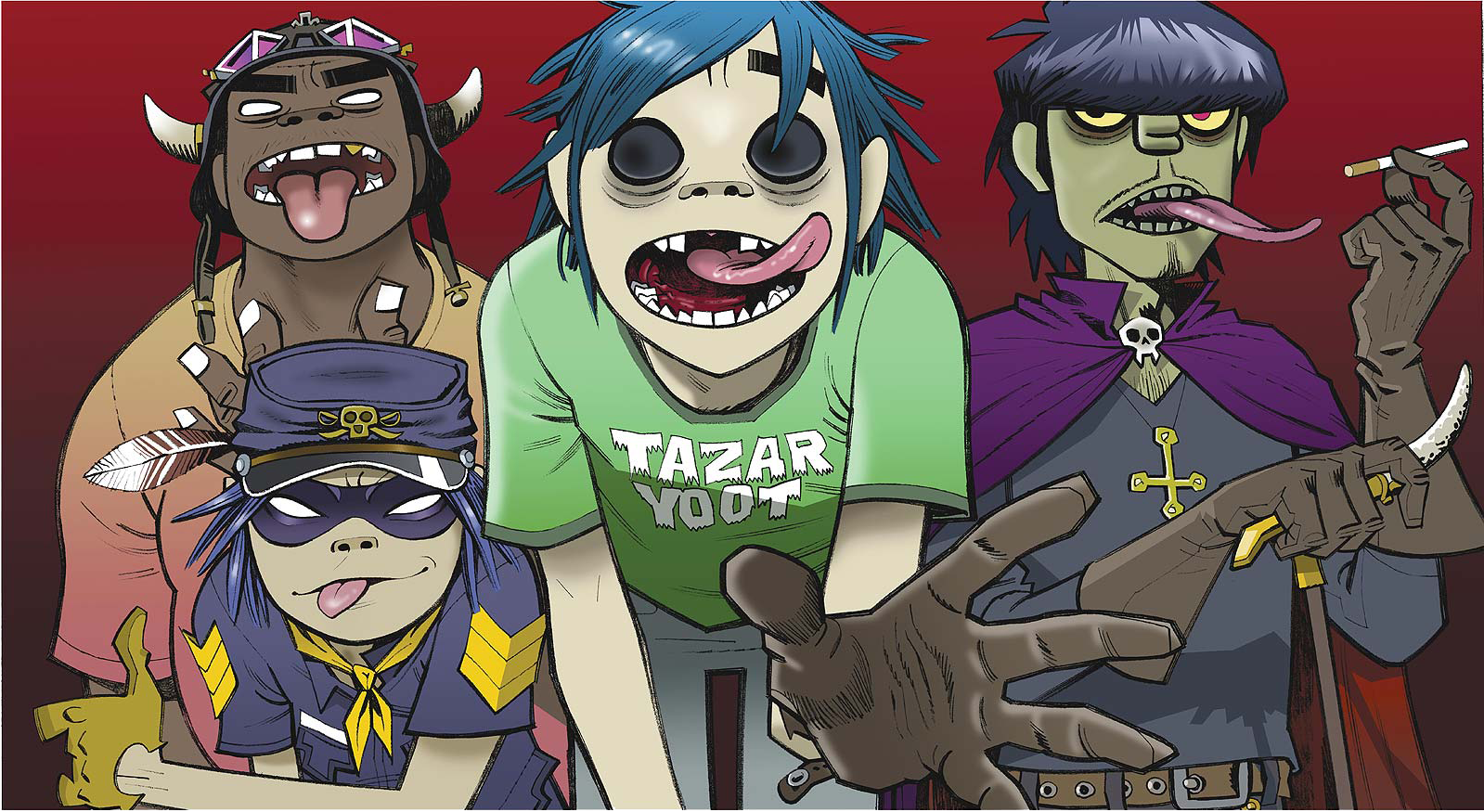 [ELECTRONIC] Gorillaz Share Synth-Heavy Bonus Track Off New Album 'Humanz'
