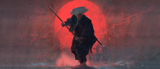 """[INDIE ELECTRONIC] Picture This: Artist Nadia Ahmed Visualizes Joakim's """"Samurai"""""""