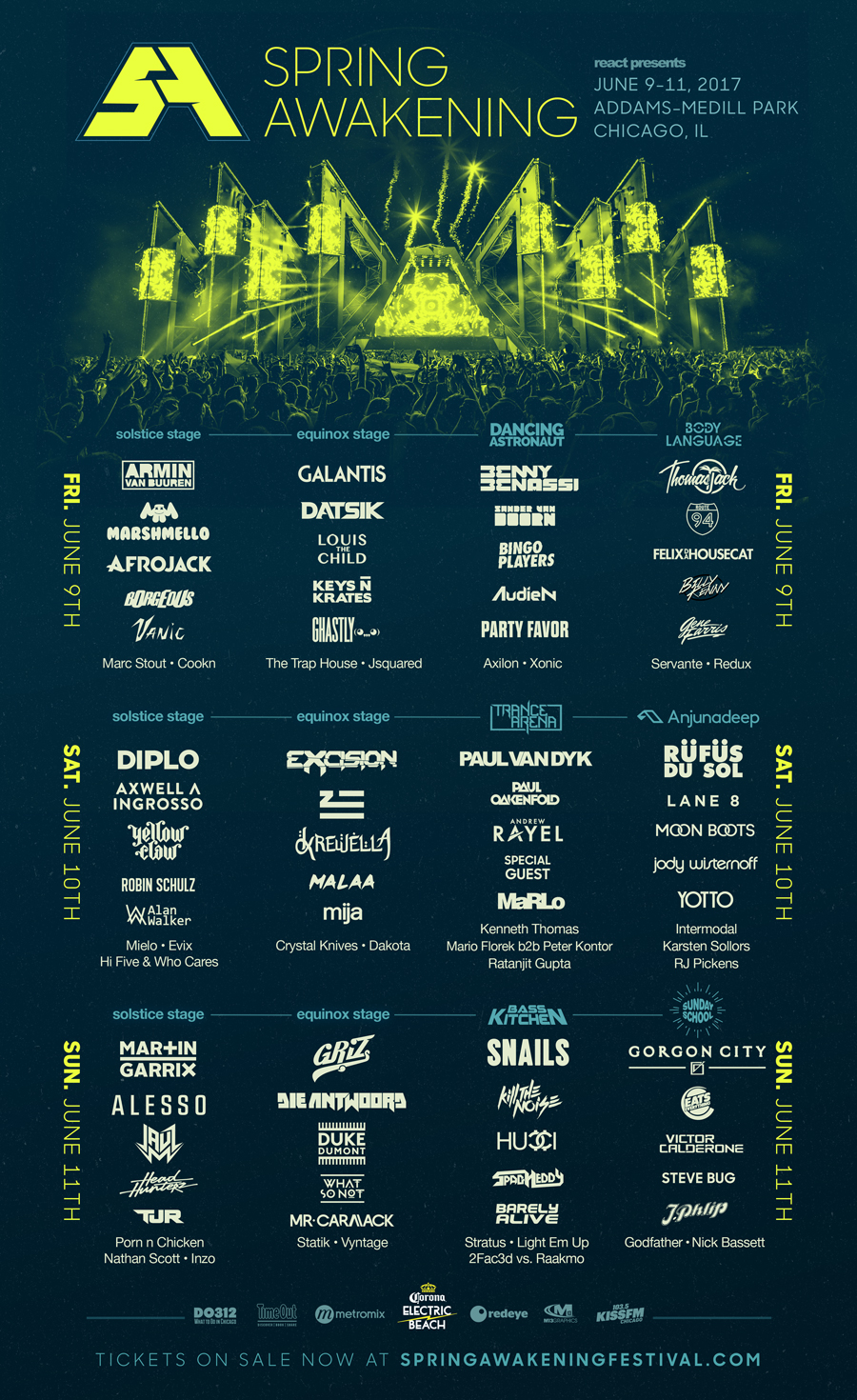 Win A Pair of GA Passes to Spring Awakening 2017