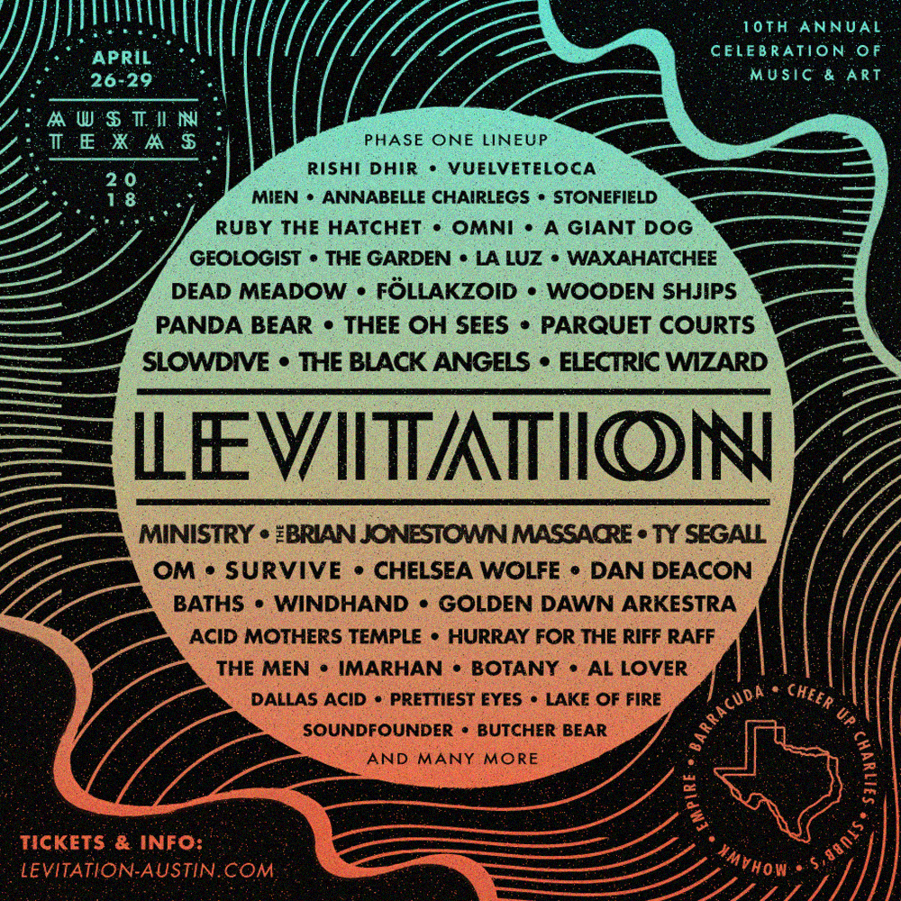 Austin's Levitation Festival Is A Psychedelic Godsend