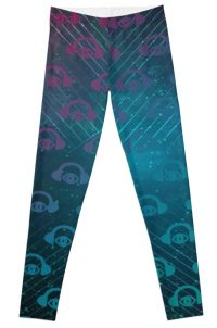 Geometric Space Flight Leggings