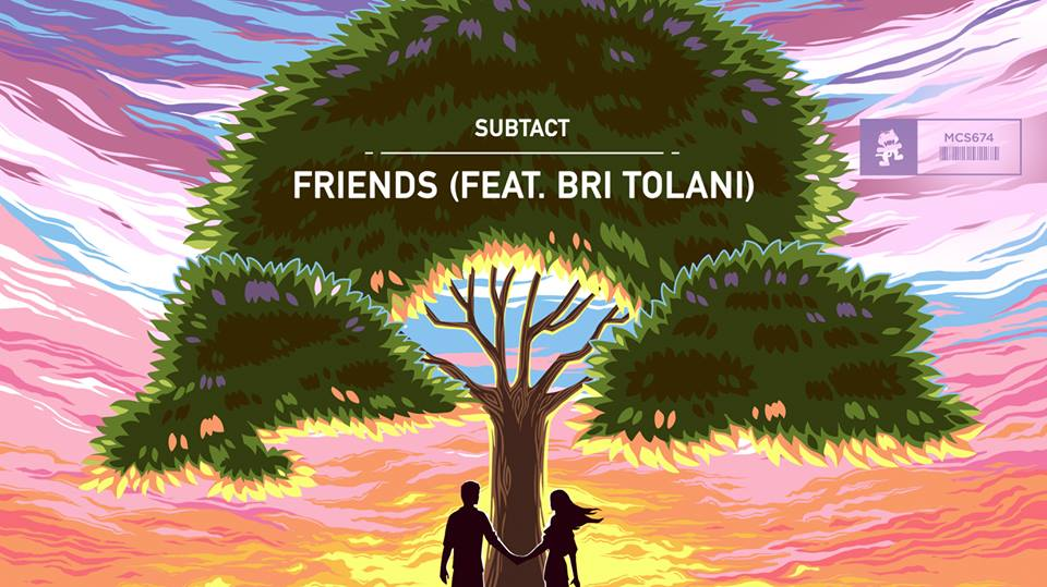 Subtact drops melodic single, 'Friends,' via Monstercat Records