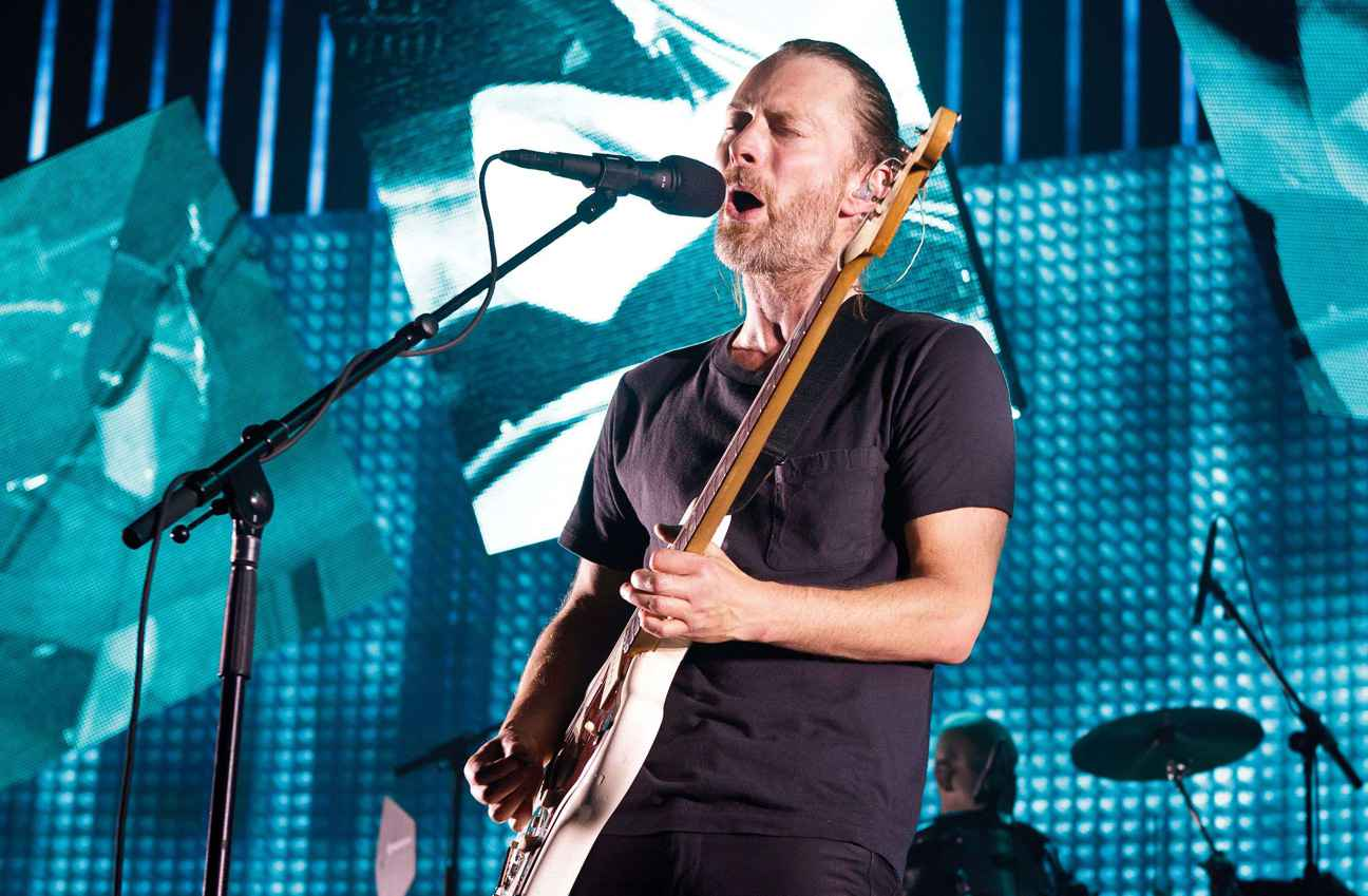 """Radiohead Play """"Blow Out"""" For The First Time Since 2008"""