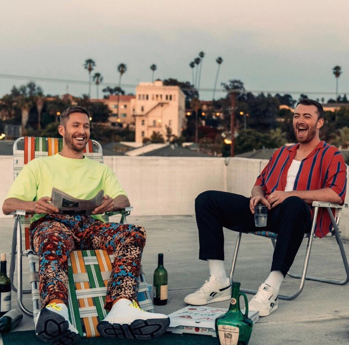 Calvin Harris and Sam Smith Make 'No Promises' With a Late Summer Smash!