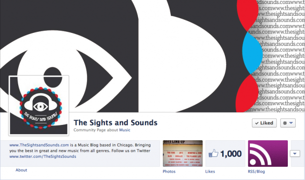 the sights and sounds 1000 followers on facebook