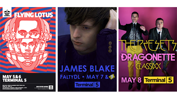 Win Tickets To Flying Lotus, James Blake, Dragonette, & The Presets at Terminal 5