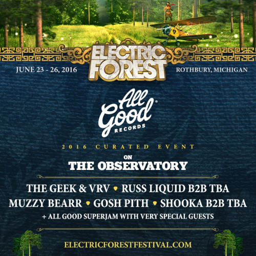 FEST NEWS] Electric Forest Reveals Full Lineup, Curated