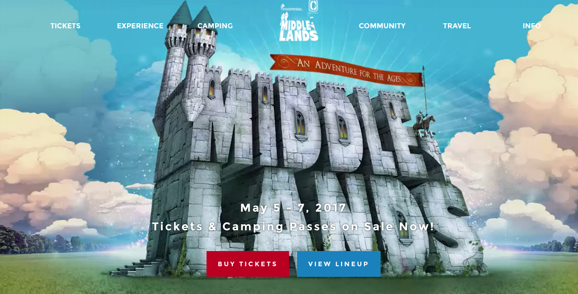 [FESTIVAL NEWS] Middlelands Festival Releases First Annual Lineup
