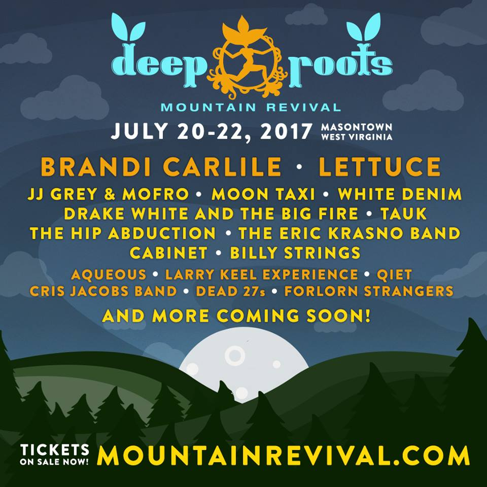[EVENT NEWS] Funk & Jam Return to Deep Root Mountain Revival