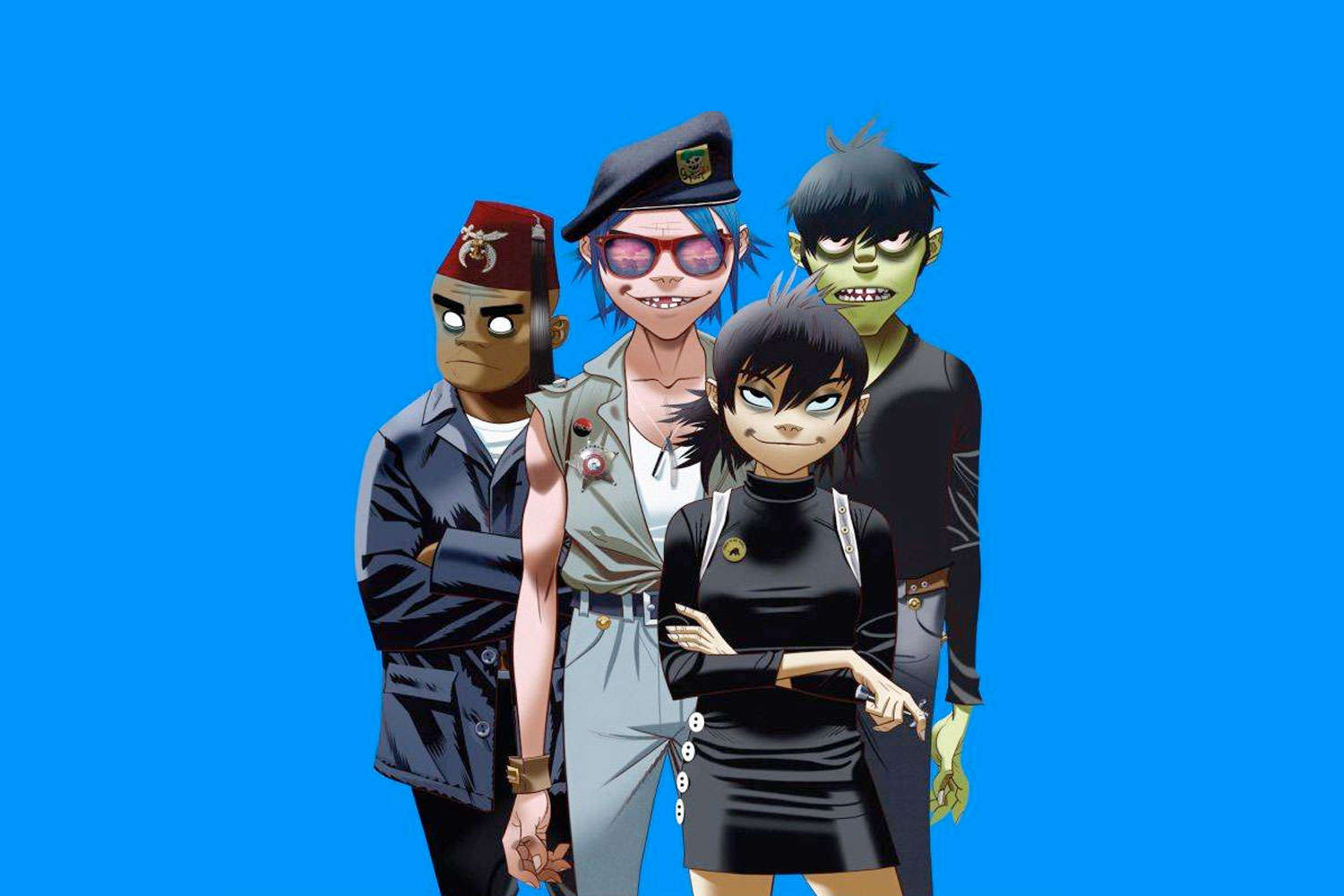 """This Is Your Brain On Drugs, Or Is It Gorillaz New Track """"Sleeping Powder"""""""