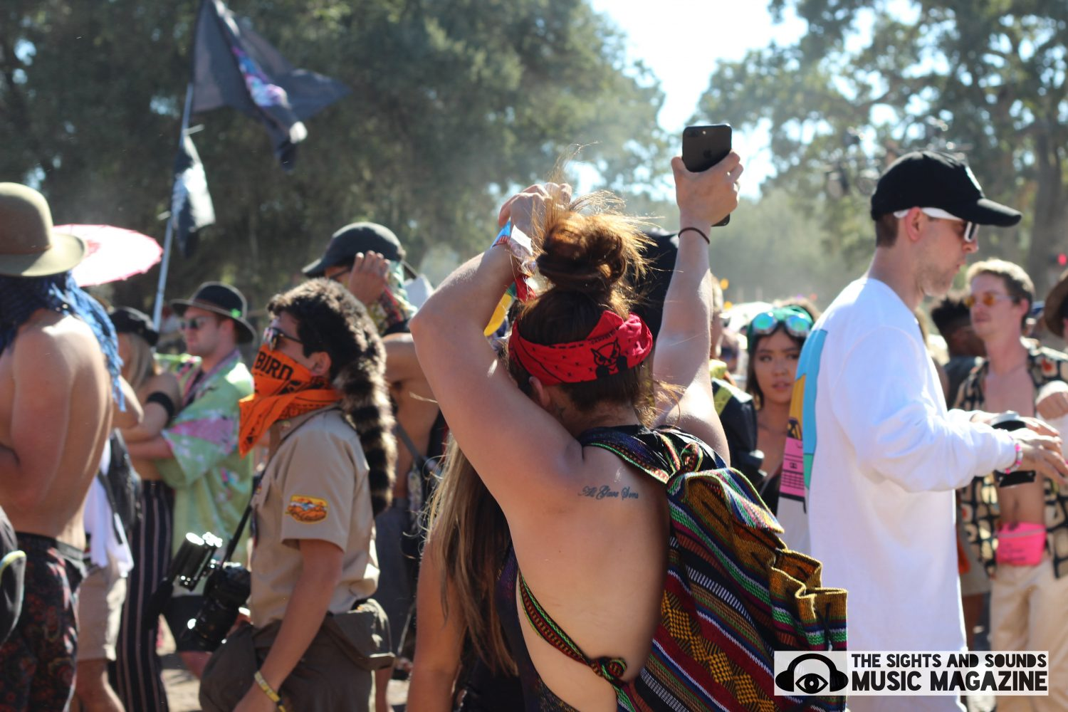 Over The River And Through The Woods: To Dirtybird Campout We Go