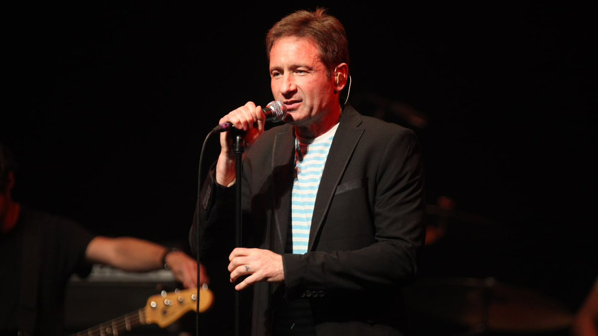 David Duchovny Continues Reemergence with New Single 'Half-Life'