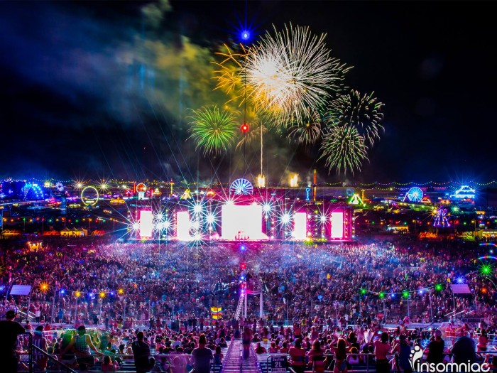 cosmicMEADOW stage at EDC