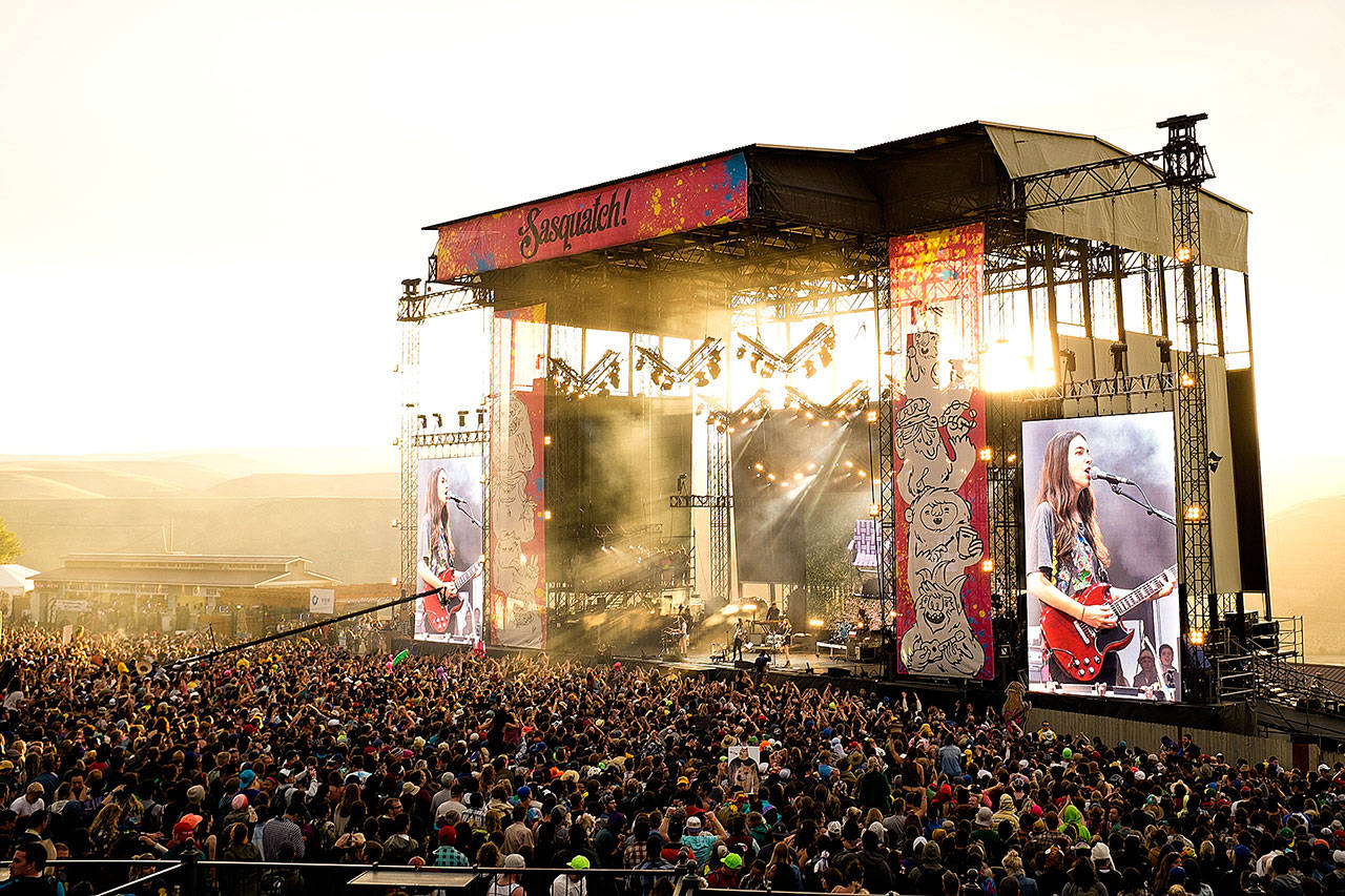 The Lineup For Sasquatch 2018 Just Dropped And It's Gonna Be Out There