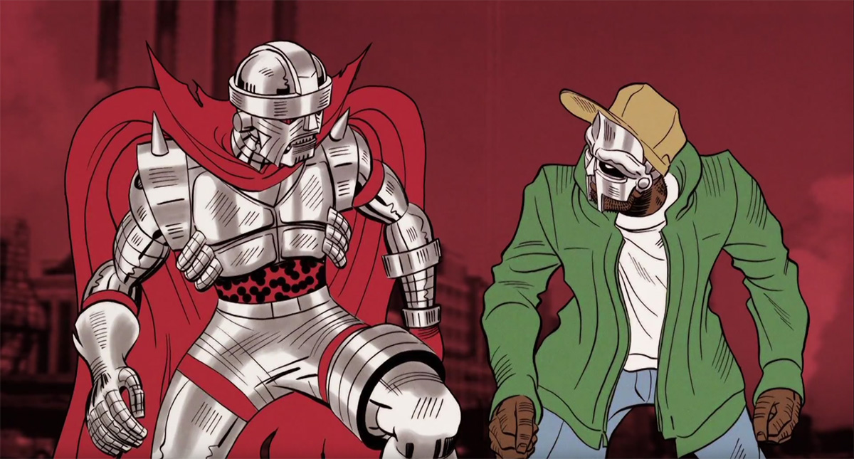 CZARFACE And MF Doom Drop Hip-Hop Bombs In Animated Video
