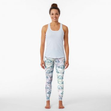 womens water color leggings