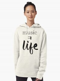 Music = Life Unisex Pullover Hoodie