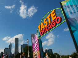 Taste of Chicago – (Photo courtesy of Chicago Crusader)
