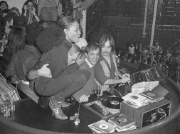 Diana Ross Squats Atop Disc Jockey Booth at Studio 54